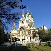 Alpes-Maritimes (06) – Côte d'Azur / Nice – Eglise Orthodoxe Russe – Cathédrale Saint-Nicholas Nice – Photo n° 04