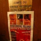 Côte d'Azur / Alpes-Maritimes / Procession du Vendredi Saint – Roquebrune-Cap-Martin – Vieux Village (06190) – Comité du Cortège historique du 5 août