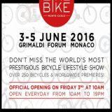 LikeBike, du 3 au 5 juin, Salon du Vélo, Grimaldi Forum Monaco (98000) / Principauté de Monaco / Événementiel - Côte d'Azur