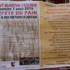 Alpes-Maritimes (06) / Arrière-Pays / Haute Vésubie / Saint-Martin Vésubie / Festivités / Fête du Pain & des Métiers d'Antan – Fête du Pain Saint-Martin-Vésubie – Août 2016 – Photo n°01