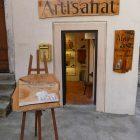 Alpes-Maritimes (06) / Saint-Martin Vésubie / Fête du Pain & des Métiers d'Antan – Nadine Jeannot – Artiste Peintre – Peinture sur bois – Photo n°62