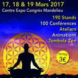 Salon du Bien Être, Bio & Thérapies, Du 17 au 19 mars 2017, Centre Expo Congrès, Mandelieu (06210) / Alpes-Maritimes (06) / Côte d'Azur
