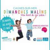 Dimanches Malins 2017, Mon bord de mer piéton, Dimanche 26 mars 2017, Promenade de la Plage, Cagnes-sur-Mer (06800) / Alpes-Maritimes (06) / Côte d'Azur