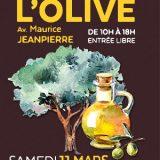 Fête de l'Olive 2017, L'Olive à l'honneur : stands, animations... Samedi 11 mars 2017, Le Cannet (06270) / Alpes-Maritimes (06) / Côte d'Azur