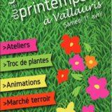 Fête du Printemps 2017, Autour du jardin, Samedi 1er avril 2017, Place Jacques Cavasse, Vallauris (06220) / Alpes-Maritimes (06) / Côte d'Azur