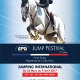 Gpa Jump festival 2017, Concours de saut d'obstacles, Du 23/03 au 4/04/2017, Hippodrome Cagnes-sur-Mer (06800) / Alpes-Maritimes (06) / Côte d'Azur