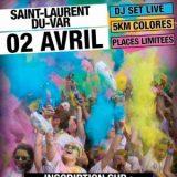 Run'Bow Colors Nice Métropole 2017, Dimanche 2 avril 2017, Saint-Laurent-du-Var (06690) / Alpes-Maritimes (06) / Côte d'Azur