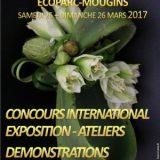 Tous au jardin 2017, Jardinage et art floral, 25 et 26 mars 2017, Eco'Parc, Mougins (06250) / Alpes-Maritimes (06) / Côte d'Azur