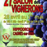 Salon des Vignerons 2017, Meilleures appellations, produits du terroir, 28/04 au 1/05/2017, Hippodrome Cagnes-Sur-Mer (06800) / Alpes-Maritimes