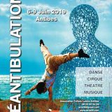 Déantibulations, Antibes, Spectacles de rue, Du 6 au 9 juin 2019