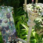 #CotedAzurFrance / Alpes-Maritimes (06) / Gattières / Visites & Découvertes  / Parcs & Jardins / Le Jardin des fleurs de poterie –  Labellisé Jardin remarquable – Photo n° 5