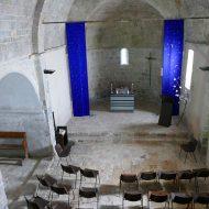 L'intérieur de l'église Notre-dame – Le Mas 06