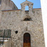 Façade de la Chapelle des pénitents blancs – Le Mas