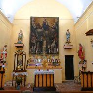 Intérieur de la Chapelle Saint-Arnoux – Le Mas 06