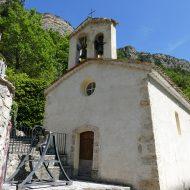 Entrée Chapelle Saint-Sauveur – Le Mas 06