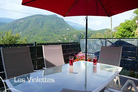 LES BONNES ADRESSES DE LA CÔTE D'AZUR / ALPES-MARITIMES (06) / Vallée de l'Estéron / Les Violettes – Location Roquestéron (06910) – Vacances – semaine & week-end