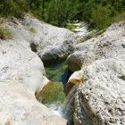 #FrenchMerveilles / Région PACA / Côte d'Azur / Alpes-Maritimes (06) / Vallée de l'Estéron / Côté Nature / Outdoor / Randonnée / Canyon dans la Vallée de l'Estéron – Photo n°9