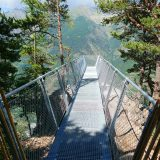 #CotedAzurFrance / Alpes-Maritimes (06) / Auron / Nature & Sensations / Le Vertige d'Auron – Un panorama époustouflant sur la Vallée de la Haute-Tinée – Photo n°1