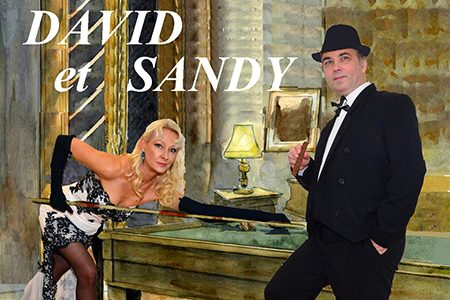 David et Sandy – Les crooners font leur show – Duo d'Artistes – Spectacles et Concerts sur la Côte d'Azur