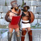 #CotedAzurNow / Alpes-Maritimes (06) / La Turbie / Spectacles & Festivités / Les Romains invitent les Gaulois – Trophée d'Auguste – La Turbie – Photo n°18