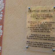Chapelle Saint-Roch – Revest-les-Roches – 06830