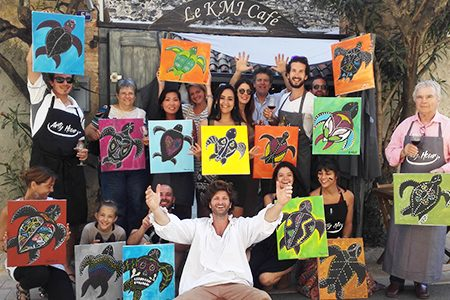 ARTY HOUR – Divertissement Artistique à Nice, Antibes ou Cannes