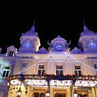 Côte d'Azur & Principauté de Monaco / Décors et illuminations de Noël – Décembre 2017 – Casino Monte-Carlo – Principauté de Monaco – Photo n°1