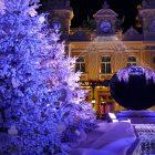 Côte d'Azur & Principauté de Monaco / Décors et illuminations de Noël – Décembre 2017 – Casino Monte-Carlo – Principauté de Monaco – Photo n°3
