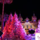 Côte d'Azur & Principauté de Monaco / Décors et illuminations de Noël – Décembre 2017 – Casino Monte-Carlo – Principauté de Monaco – Photo n°5