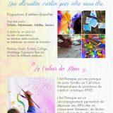 DEL'ARTHERAPIE – Atelier d'Art-thérapie pour tout public – Atelier d'expression créative – Photo n°2