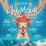Festival de l'Humour 2018, Auron,1er au 5 février 2018, Saint-Etienne-de-Tinée (06660) / Alpes-Maritimes / Côte d'Azur.
