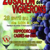 Salon des Vignerons 2018, Cagnes-Sur-Mer, Du 28 avril au 1er mai 2018