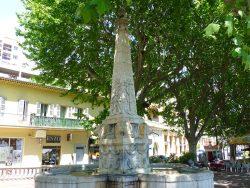 Fontaine du Cours Honoré Cresp