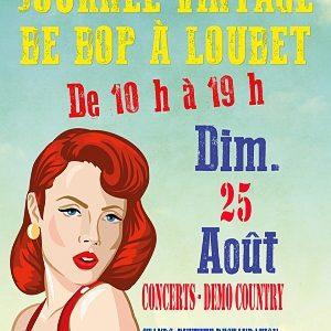 Be Bop à Loubet, Villeneuve-Loubet, Dimanche 25 août 2019