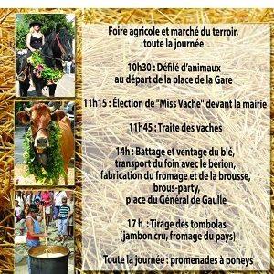 L'animal en fête, Saint-Martin-Vésubie, Dimanche 15 septembre 2019