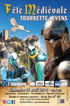 Fête Médiévale Tourrette-Levens