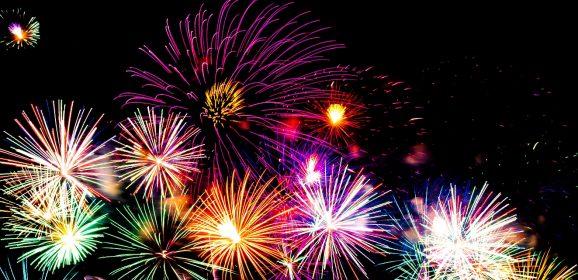 Feux d'artifice et Festivités du Nouvel An