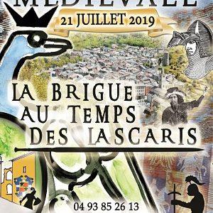 Fête médiévale de La Brigue, les 20 et 21 juillet 2019