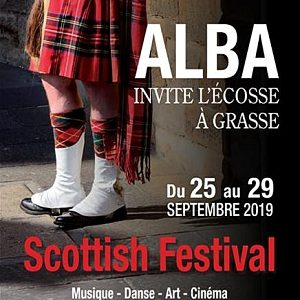 Scottish Festival,Grasse, du 25 au 29 septembre 2019