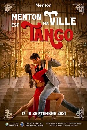 Menton, ma ville est Tango