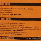 Alpes-Maritimes / Arrière-Pays / Utelle (06450) / Fêtes / Festivités / Fête Patronale de la Saint Roch – Festin traditionnel – 16 août 2016 – Photo n°8