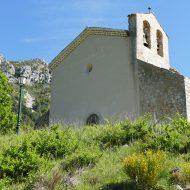 L'entrée de l'église Notre-dame – Le Mas 06