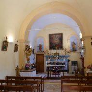 Intérieur Chapelle Saint-Sauveur – Le Mas 06