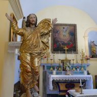 Statue polychrome Chapelle Saint-Sauveur – Le Mas 06