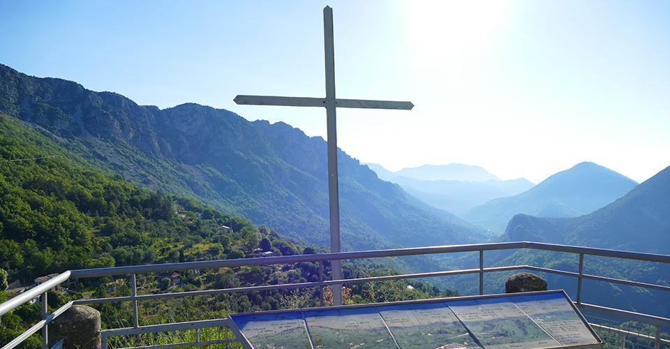 Vue sur la Vallée de L'Estéron