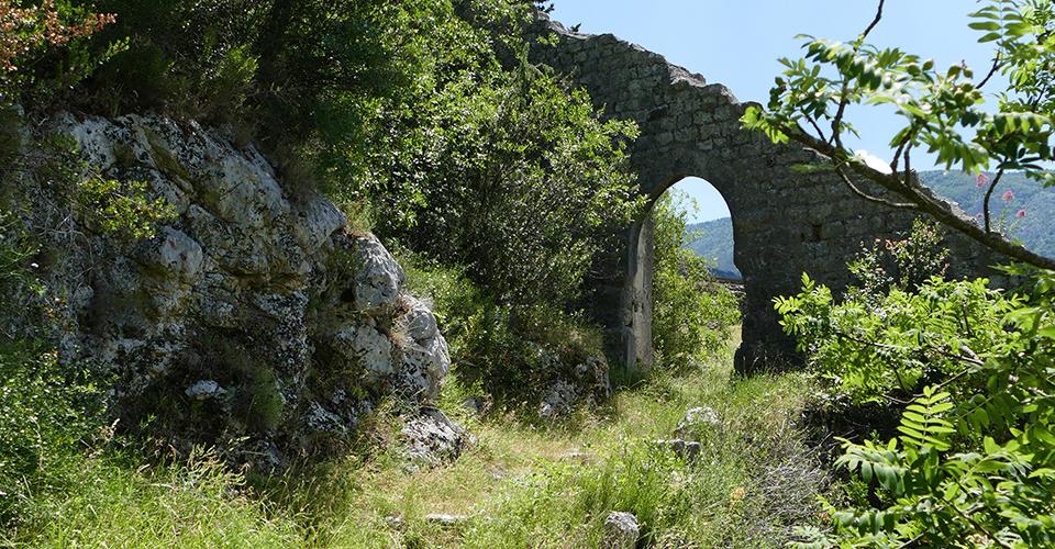La porte romane