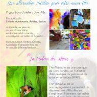 DEL'ARTHERAPIE – Atelier d'Art-thérapie pour tout public – Atelier d'expression créative – Photo n°3