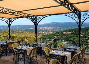 Restaurant L'Amandier de Mougins, Menus gastronomiques