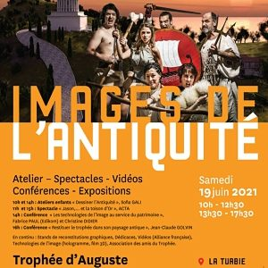 Images de l'Antiquité, La Turbie, Trophée d'Auguste, Samedi 19 juin 2021