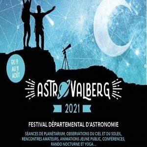 Astro Valberg, Festival d'Astronomie, Valberg, 9 au 11 août 2021